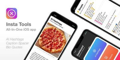 Insta Tools - iOS App Source Code