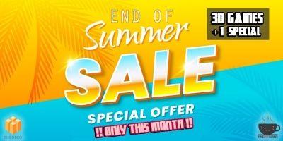 Summer Sale - 31 Buildbox Games