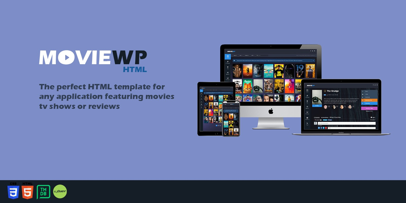 MovieWP - HTML template