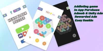Hexa 1010 Puzzle Game Complete Unity Project