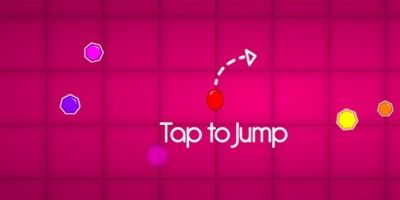 Super Ball Tap Tap Jump Unity Game