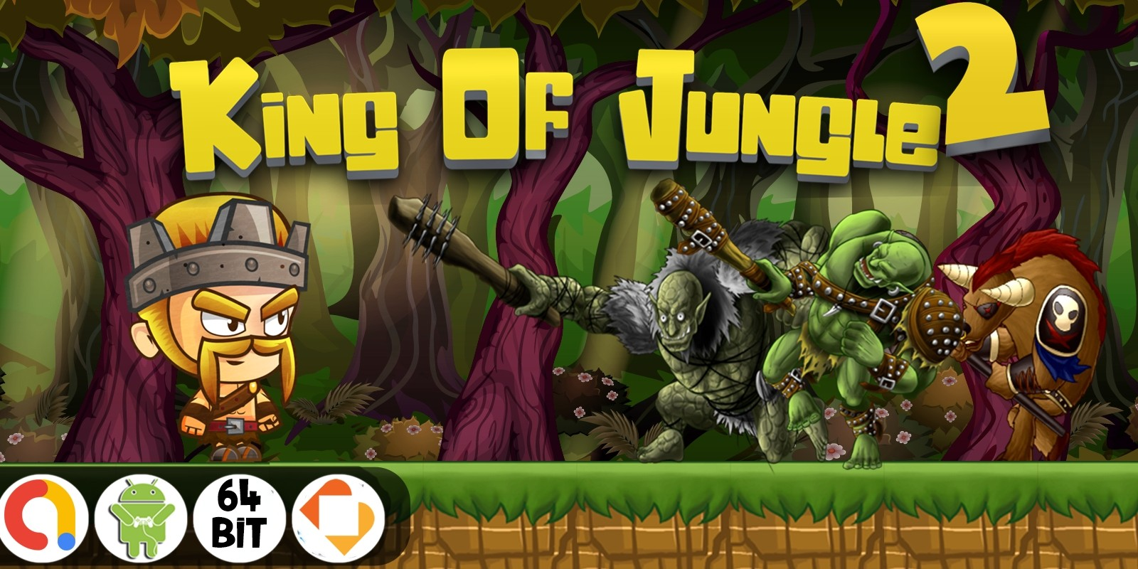 King Of Jungle 2 - Buildbox Template 2