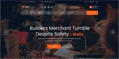 Brella Sweet Website Template