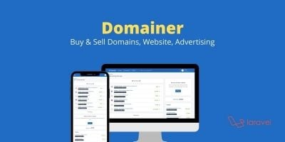Domainer - Sell Domains And Websites Script