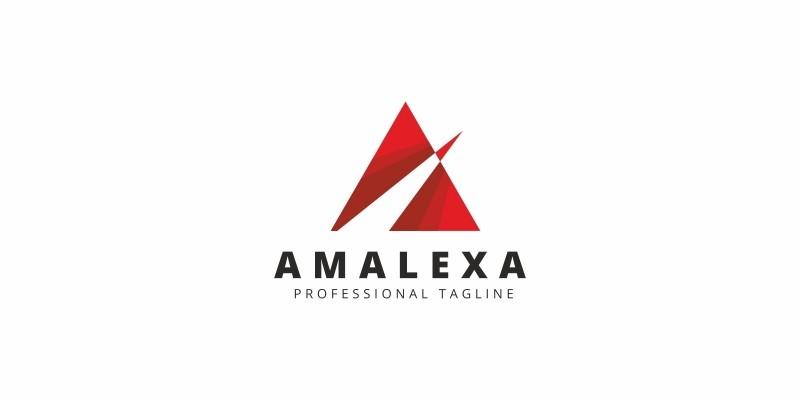A Letter Arrows Logo