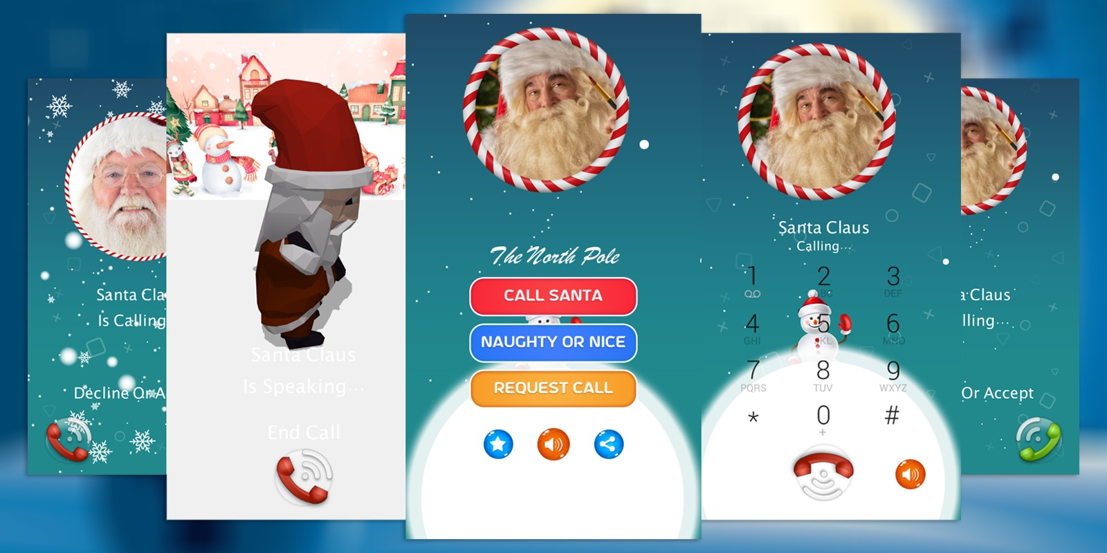 Call From Santa Claus For Christmas BuildBox 3