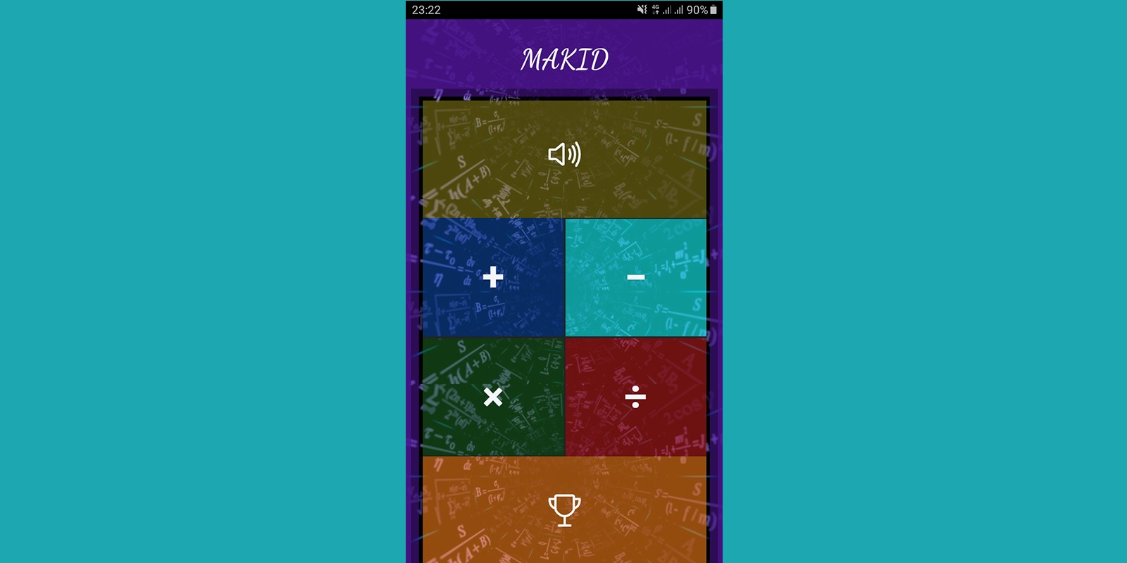 Quiz App Maths Game Ionic Template