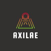 Letter A Line Gradient Logo