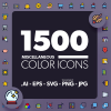 1500-miscellaneous-color-icons
