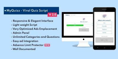 MyQuizz - Viral Quiz Script