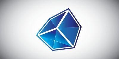 Futuristic cube box