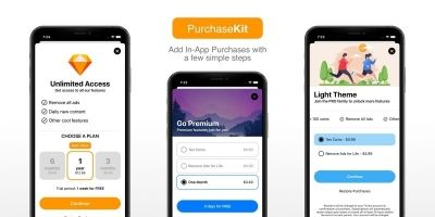 PurchaseKit - In App Purchases Subscriptions iOS