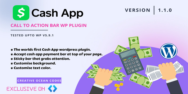 Cash App WordPress Plugin