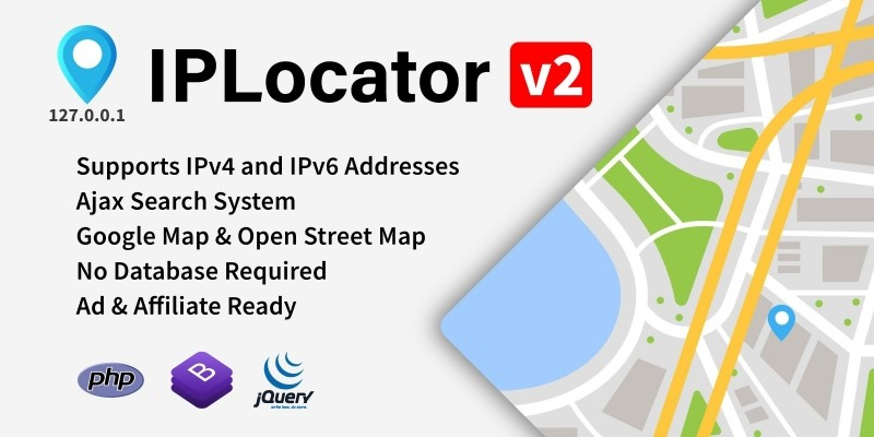IPLocator - IP Location Finder PHP Script