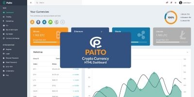 Paito – Crypto-Currency Admin Dashboard HTML