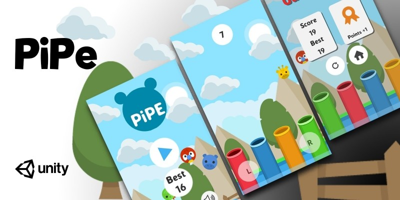 PiPe - Complete Unity Game