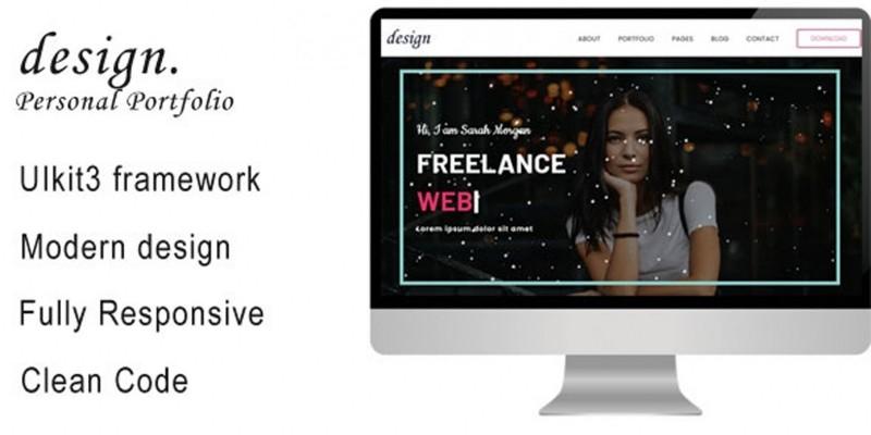 Personal Portfolio Template for Freelancers