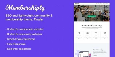 Membershiply WordPress Theme