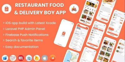 Single Restaurant iOS Food Ordering App