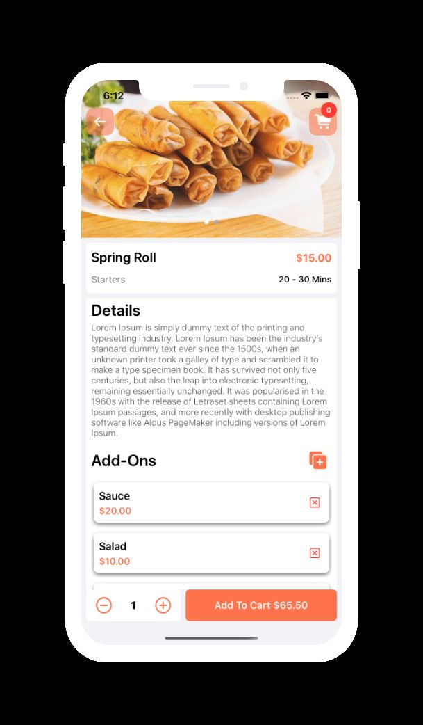 Single Restaurant Android Food Ordering App by ...