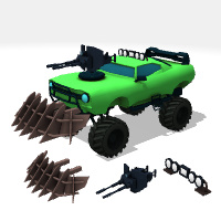Update The Car - Buildbox Template