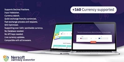 Nersoft Currency Converter For WordPress