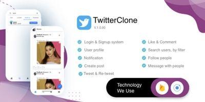 TwitterClone - Ionic And Firebase