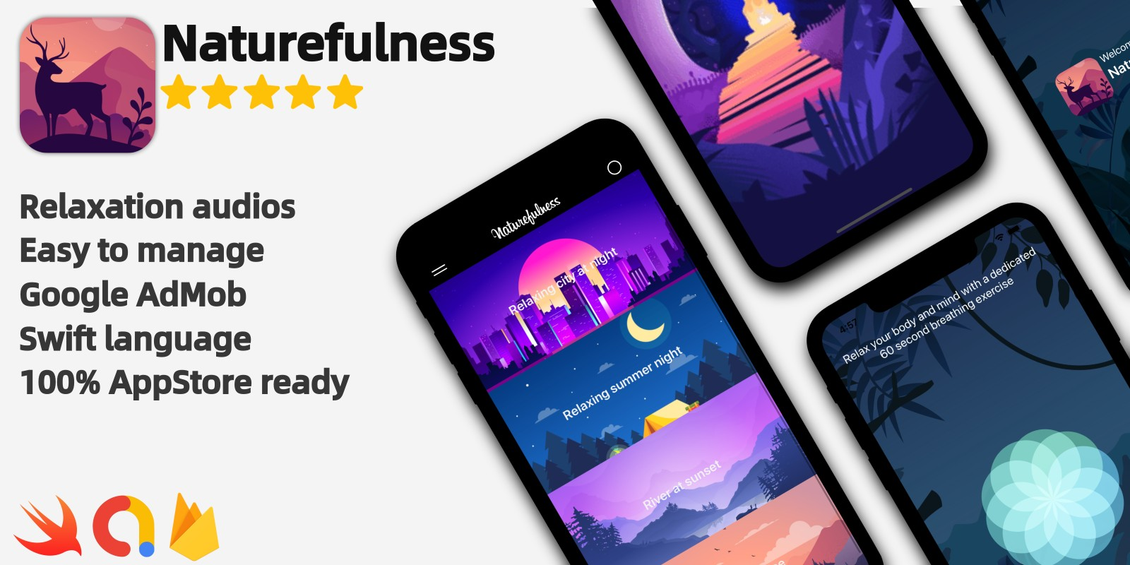 Naturefulness - iOS Relaxation Application