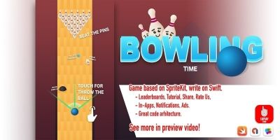 Bowling Time - iOS Source Code