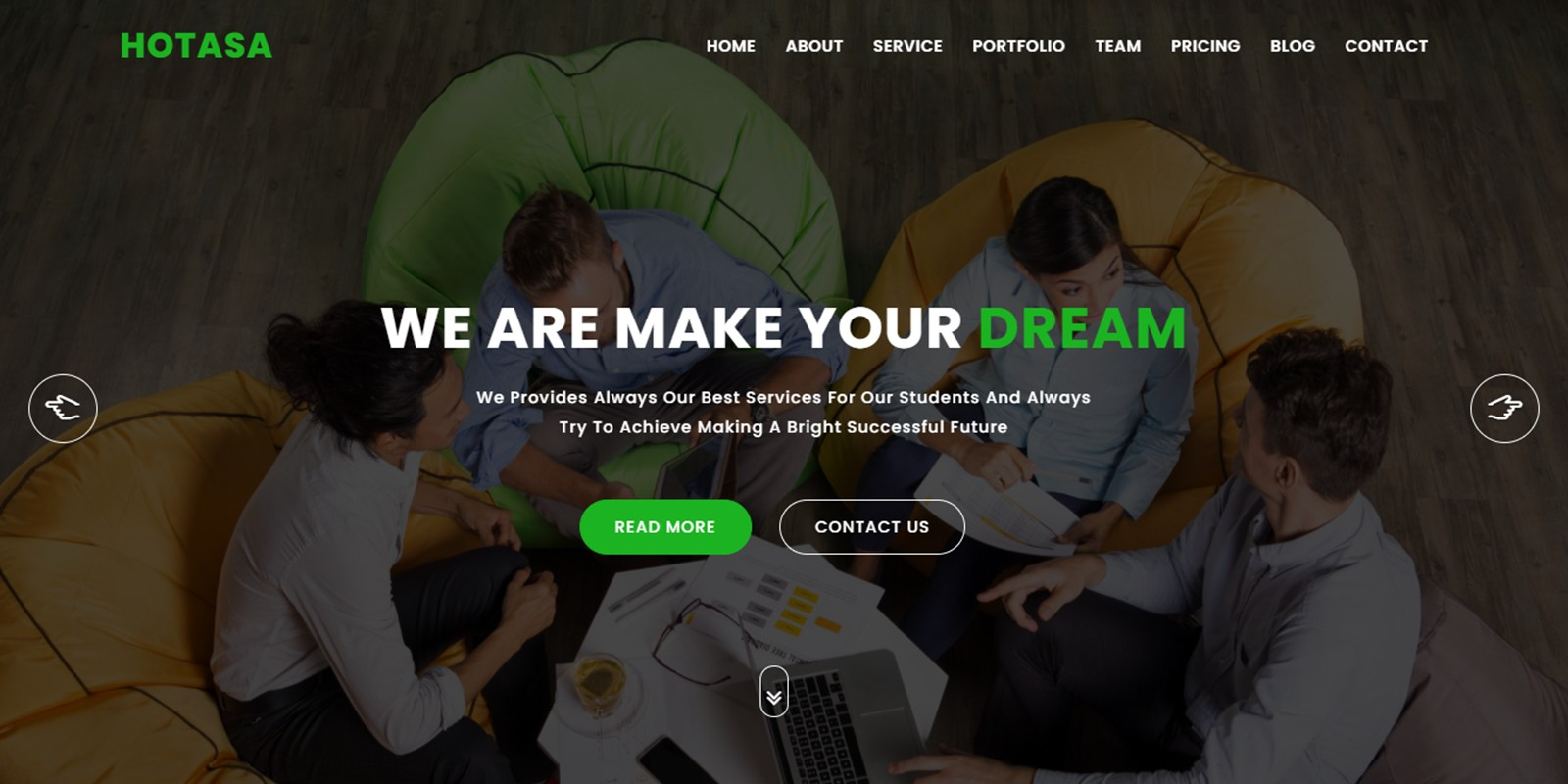 Hotasa Consulting And Business HTML5 Template