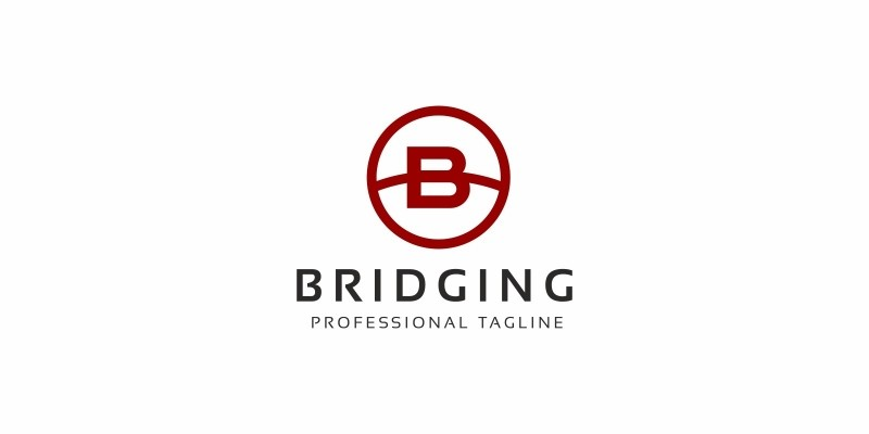 Bridge B Letter Logo