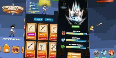 Super Stick Fight Z Archer Unity Project
