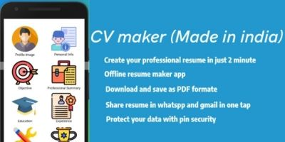 CV maker - Resume Builder Android App Code