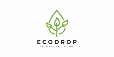Eco Drop Logo