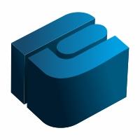 E Letter 3D Logo