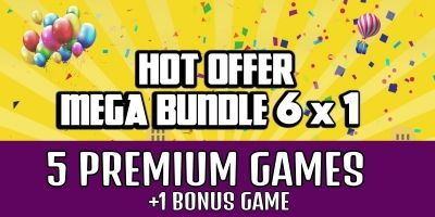 Mega Bundle 2 - 5 Premium Buildbox Games