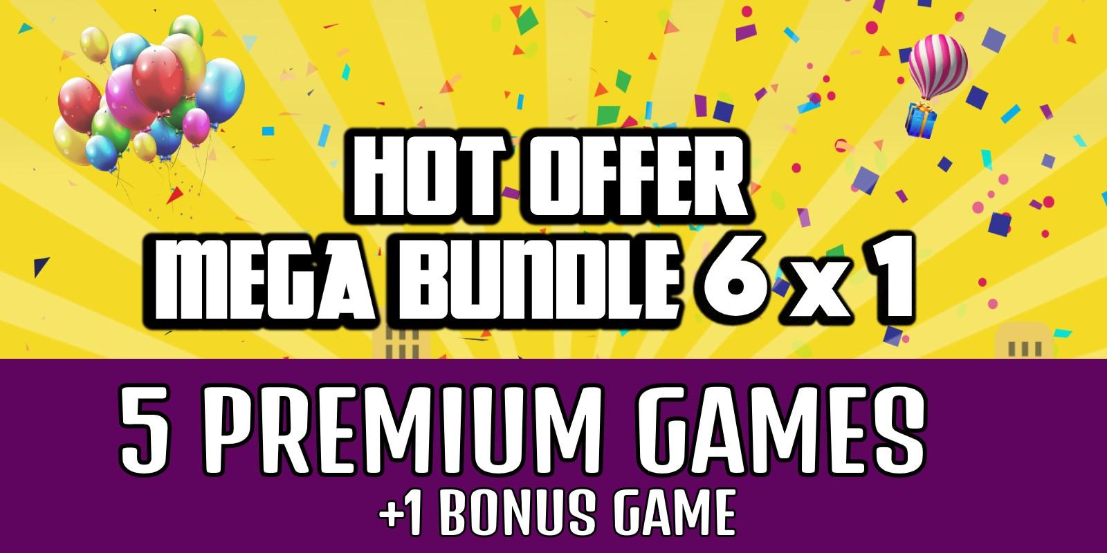 Mega Bundle 2 - 5 Premium Buildbox Games