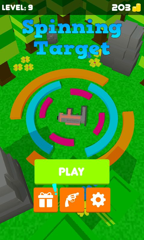 Spinning Target – Unity Game Template