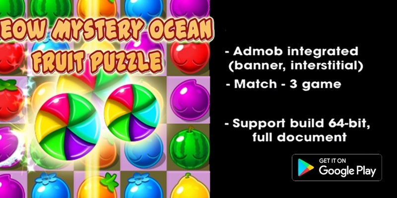 Meow Mystery Ocean - Unity Puzzle Complete Project