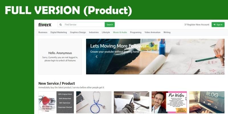 Marketplace Multivendor - Digital Download Version