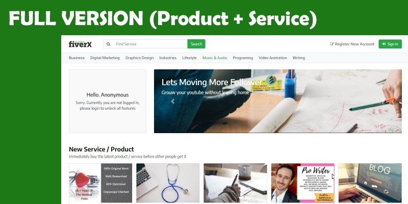 Marketplace Multivendor - Downloads And Services
