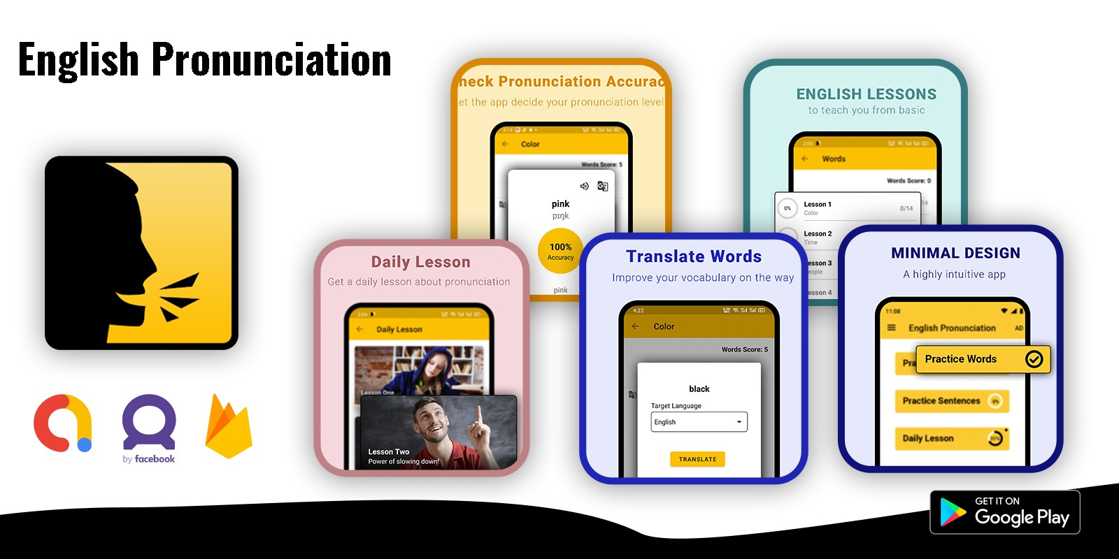 English Pronunciation - Android App Template