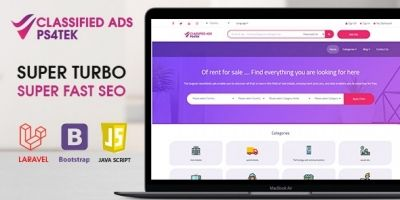 Super Turbo Classified Ads Laravel Full Script