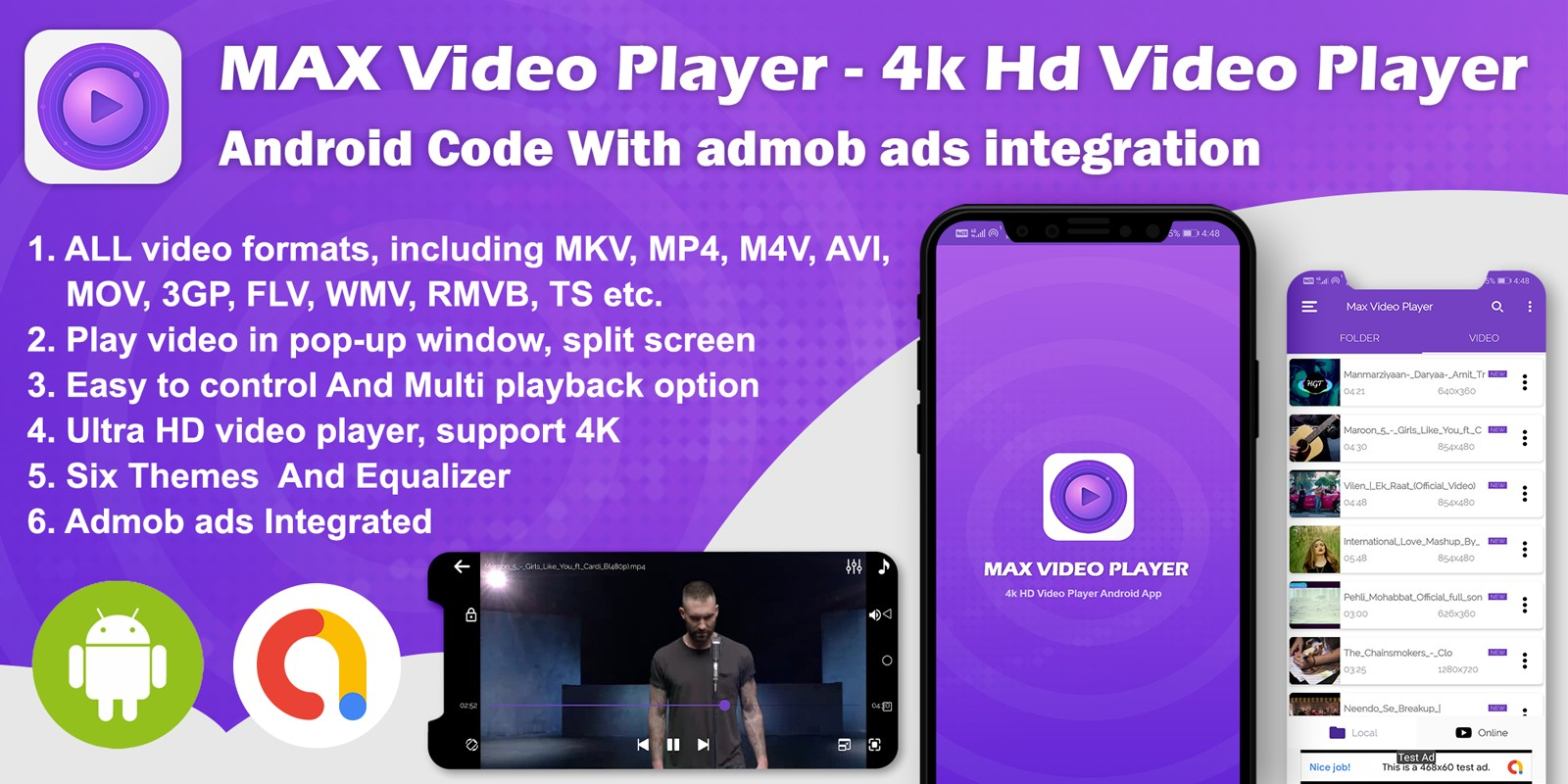 Android Max Video Player