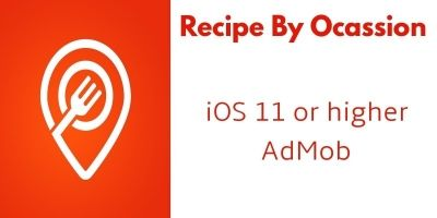 Recipe By Ocassion - iOS App Source Code