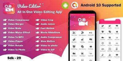 Android Video Editor - Full Source Code