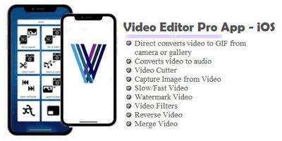 Video Editor Pro App - iOS Source Code