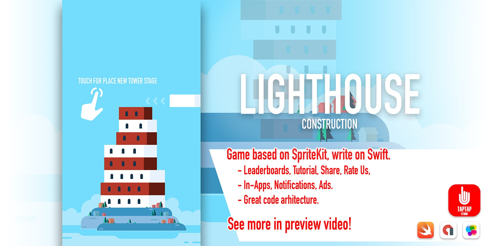 Lighthouse Construction - iOS App Source Code
