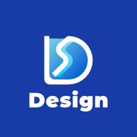 D Gradient Blue Logo