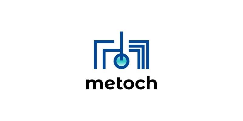 Letter M Tech Logo